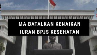 Photo of MA Batalkan kenaikan Iuran BPJS Kesehatan