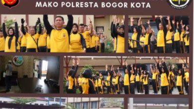 Photo of Waka polresta Pimpin Apel Pagi Di Mako Polresta Bogor Kota