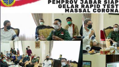 Photo of Kang Emil, Pemprov Jawa Barat Siap Gelar Rapid Test Massal Corona