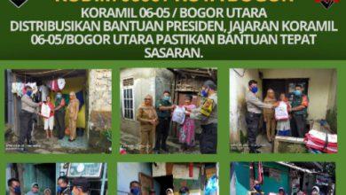 Photo of DISTRIBUSIKAN BANTUAN PRESIDEN, JAJARAN KORAMIL 06-05/BOGOR UTARA PASTIKAN BANTUAN TEPAT SASARAN.