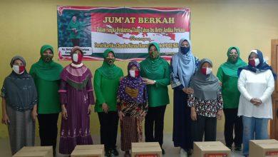 Photo of Persit KCK Korem 061/SK Laksanakan Jumat Berkah Dalam Rangka Hari Ulang Tahun Ibu Hety Andika Perkasa