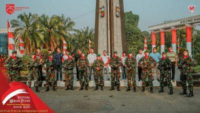 Photo of Festival Merah Putih Kodim 0606 Kota Bogor Kibarkan Bendera Merah Putih