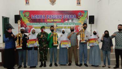 Photo of Kodim 0606 Kota Bogor Adakan Lomba Paduan Suara Tingkat SMK/SMA Sekota Bogor